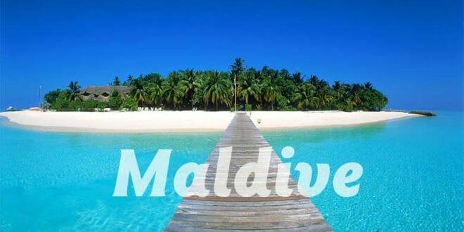 Le Maldive in estate