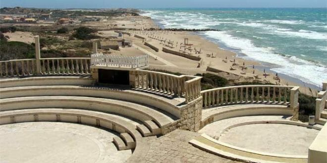 La spiaggia del Clubmed Kamarina