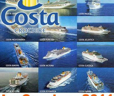 crociere COSTA dell'Estate 2011