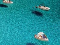 Il mare nelle spiagge di Lampedusa è incredibile...