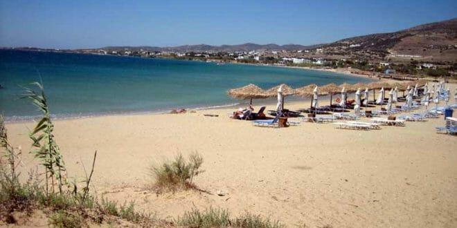 Paros: spiagge