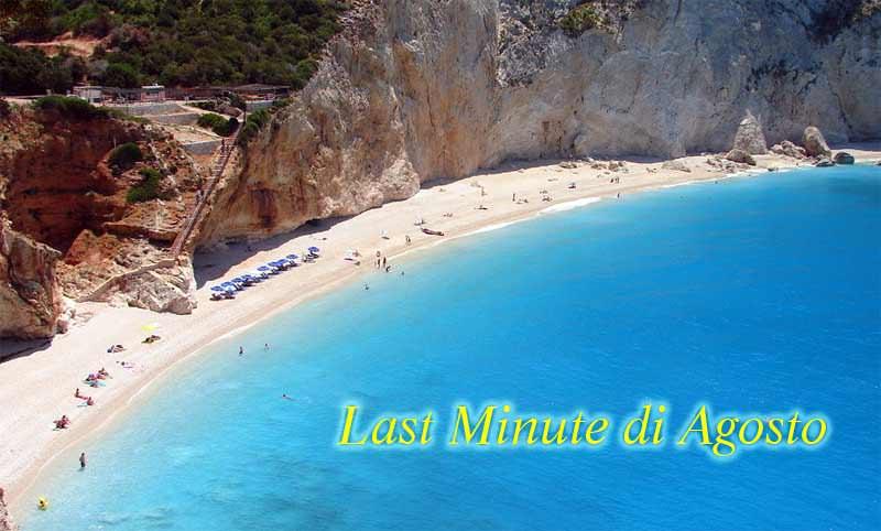 La Grecia è una buona meta per trovare vacanze in offerta in Agosto