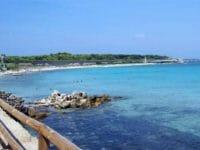 Pianosa: foto con la spiaggia, il carcere e i resti Romani
