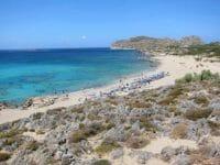 La lunga spiaggia di Falasarna