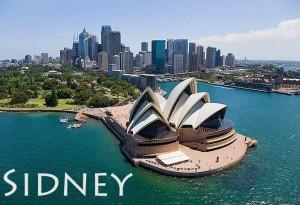 Panorama di Sidney, Australia