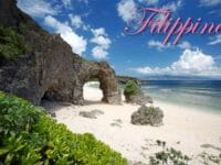 Spiaggia tropicale Filippine