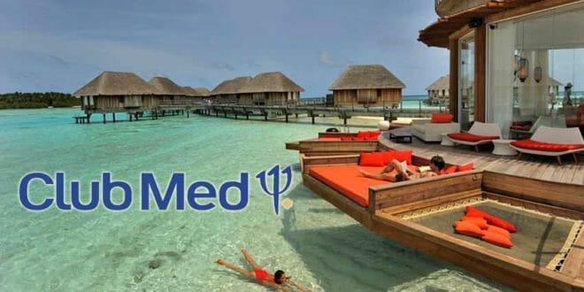 Un mare da sogno, ad un Club Med alle Maldive