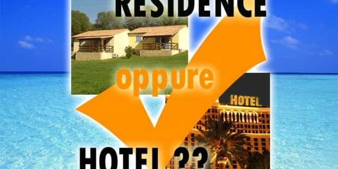 Hotel VS Residence