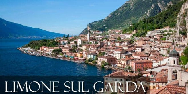 Limone sul Garda in estate