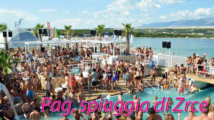 PAG, una festa in spiaggia