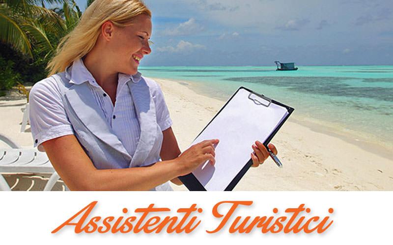 assistenti turistici lavoro
