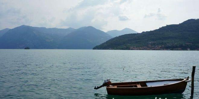 Lago d'Iseo in estate