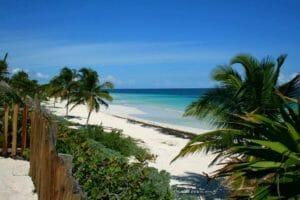 Il mare della costa dello Yucatan