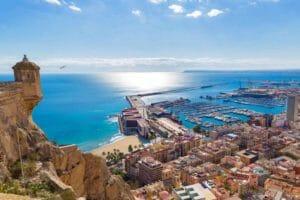 Alicante in estate