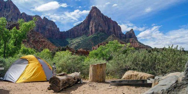 Campeggio (libero) in montagna