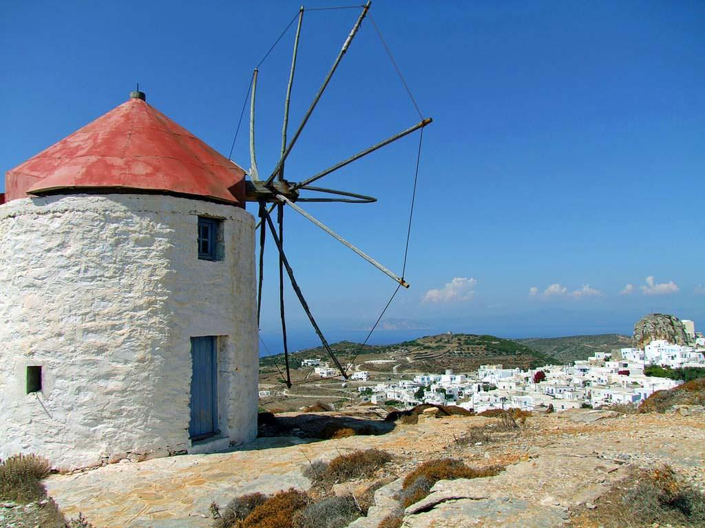 Cicladi: isola di Amorgos