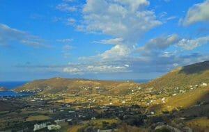 Cicladi: isola di Andros