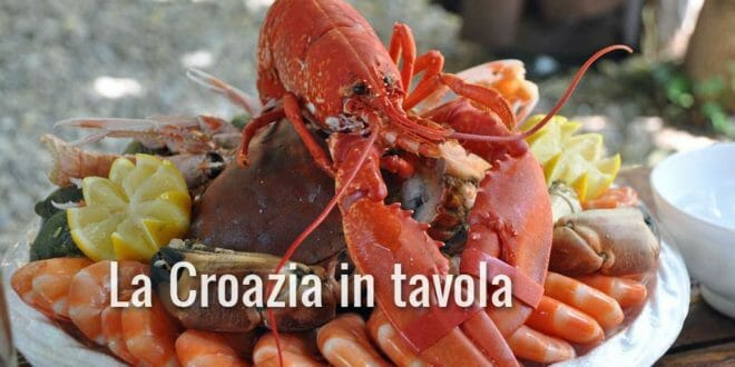 Croazia cucina e piatti tipici