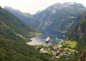 Crociera nei fiordi Norvegesi