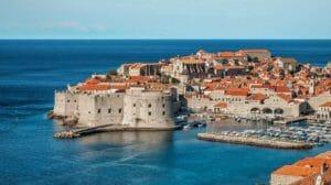 Vista di Dubrovnik, Croazia