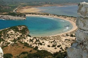 Peloponneso, la spiaggia di Voidokilia