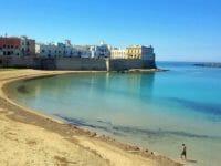 Puglia, la spiaggia di Gallipoli