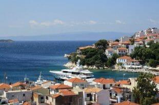 Skiatos, isola in Grecia