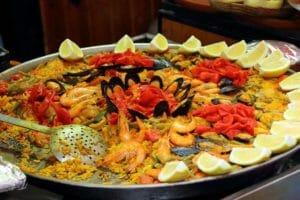Cibo in Spagna: la paella