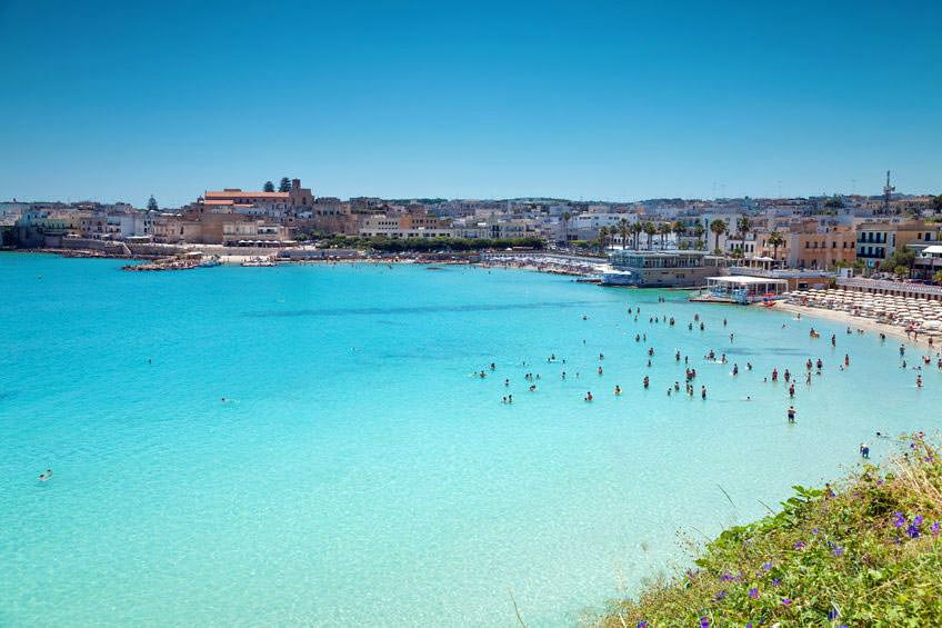 Salento: la spiaggia di Otranto