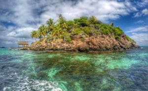 Isole Bahamas in estate