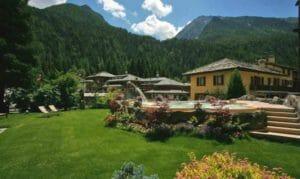 Hotel con spa tra i monti