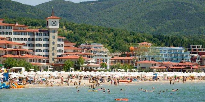 Sunny Beach in Bulgaria
