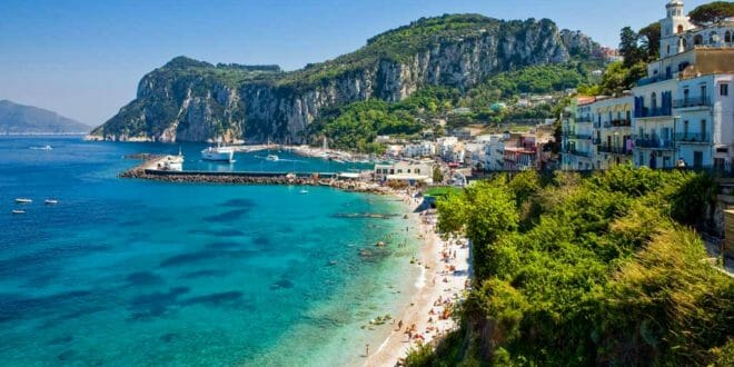 Isola di Capri, la costa