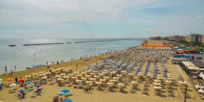 Cesenatico, la spiaggia