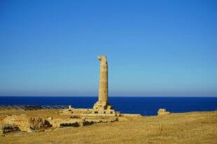 Crotone, resti del tempio