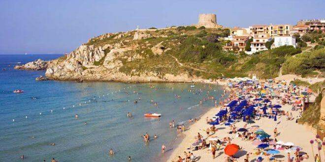 Santa Teresa di Gallura, spiaggia Rena Bianca