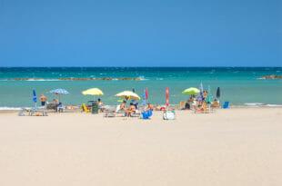 Fano, la spiaggia