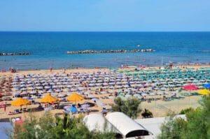 Marina di Montenero, la spiaggia