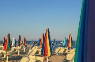 Milano Marittima, la spiaggia