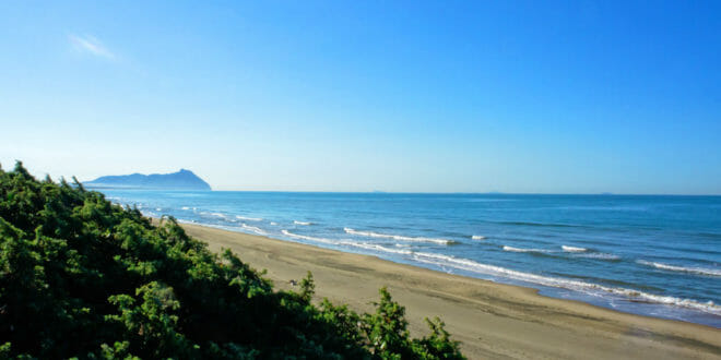 Sabaudia, la costa sabbiosa