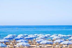 Cannes, la spiaggia
