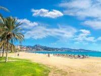 Malaga, la spiaggia
