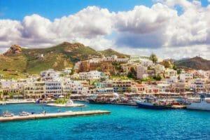 Naxos, il centro cittadino