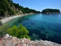 Skopelos, la spiaggia