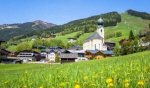 Saalbach-Hinterglemm, la vallata