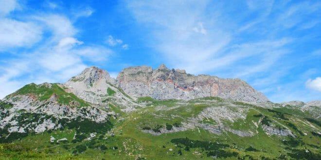 Vorarlberg in estate, prati e monti