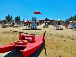 Touring Hotel a Rodi Garganico: la spiaggia