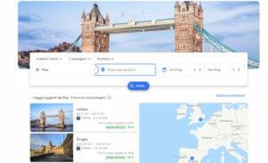 Google Flight, come funziona
