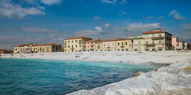 Marina di Pisa, località balneare sul litorale toscano