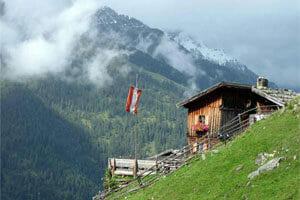 Austria Montagna in estate